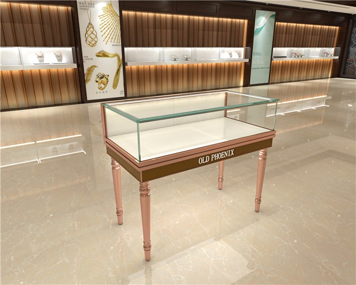 歐式珠寶柜,玻璃珠寶展示柜,精品首飾柜臺