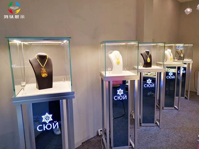 珠宝展柜厂家,珠宝展示柜,珠宝展示柜台定制,珠宝展柜定制,玻璃珠宝展示柜